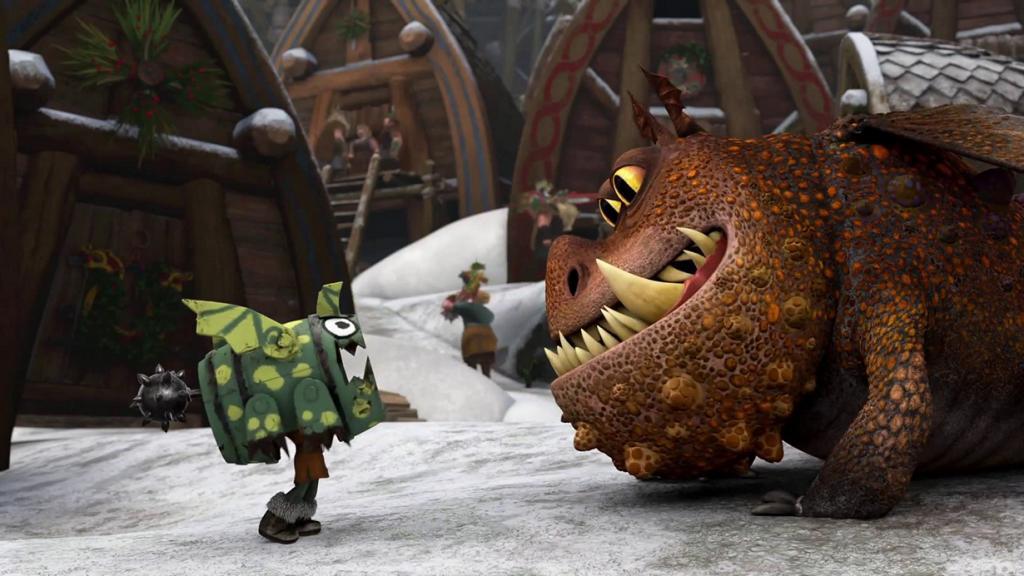 Номинант на премию «Лучший анимационный полнометражный фильм» «Как приручить дракона 2» студии DreamWorks Animation. (Кадр из фильма)