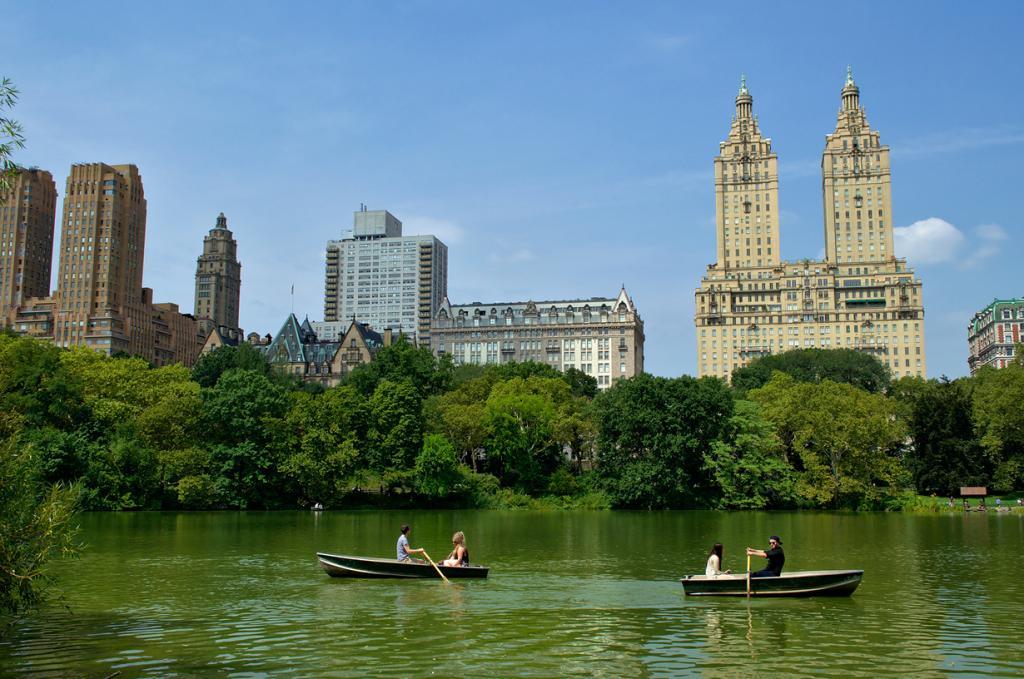 США. Нью-Йорк. Центральный парк. (Bokeh & Travel)