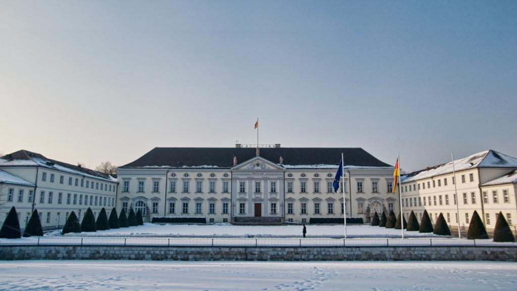 Германия. Берлин. Дворец Бельвю является резиденцией Президента страны. (James Clear)