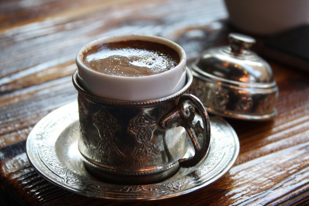 Кофе по-турецки. (Jorge Cancela)