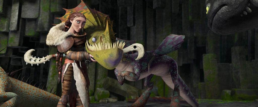 «Лучший анимационный фильм» — «Как приручить дракона 2» студии DreamWorks Animation. (DreamWorks Animation)
