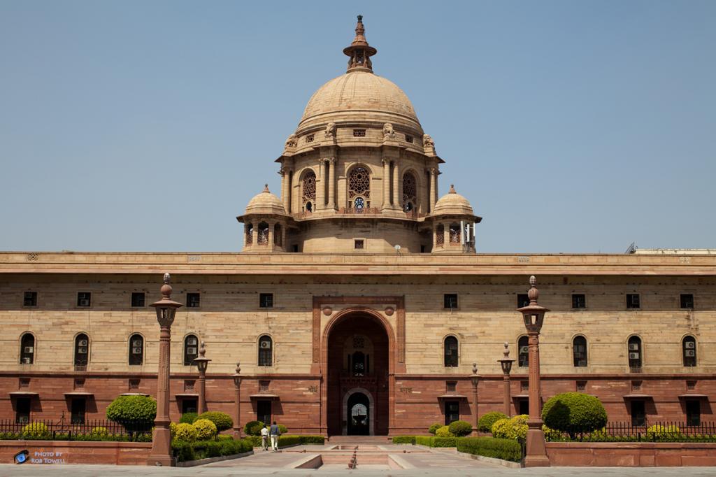 Индия. Нью-Дели. Раштрапати-Бхаван является официальной резиденцией Президента страны. (Rob Towell)