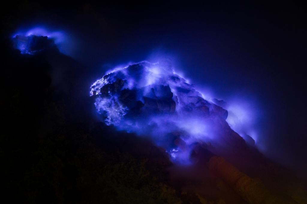 «Синий огонь». (Stéphane DAMOUR)