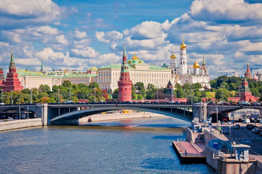 Россия. Москва. Московский Кремль является официальной резиденцией президента Российской Федерации. (Hendrik Terbeck)