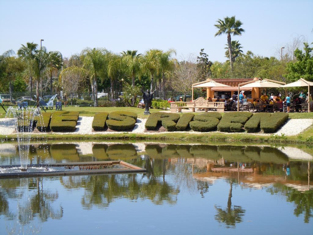 Все экспонаты парка представлены на библейскую тематику. (Judy Baxter)