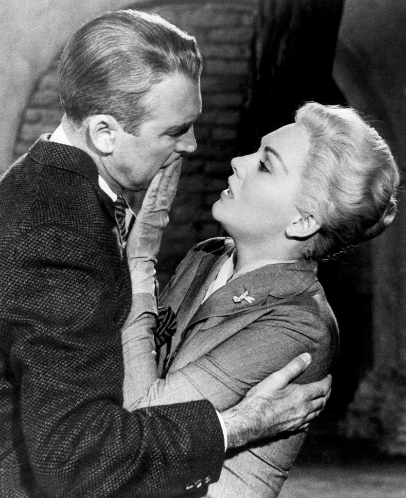 «Головокружение» (1958). (Кадр из фильма)