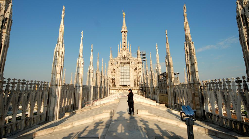 Италия. Милан. Миланский собор. (francisco delatorre)