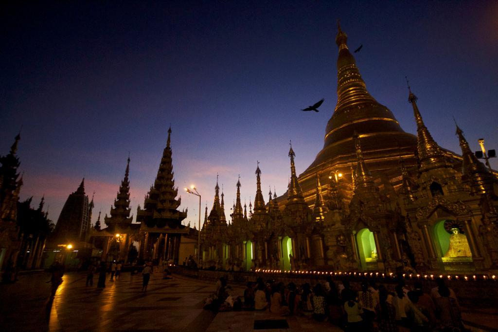 Мьянма. Янгон. Пагода Шведагон. (Tobias von A.)