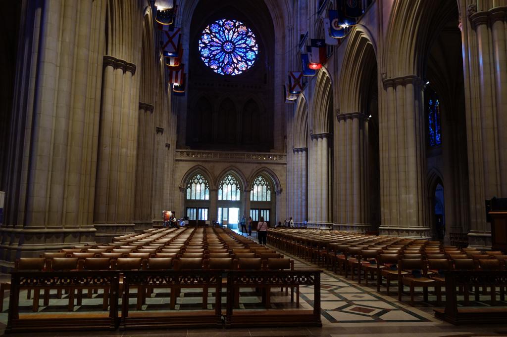 Вашингтонский кафедральный собор. Архитектурный стиль — неоготика. (icoNYCity)