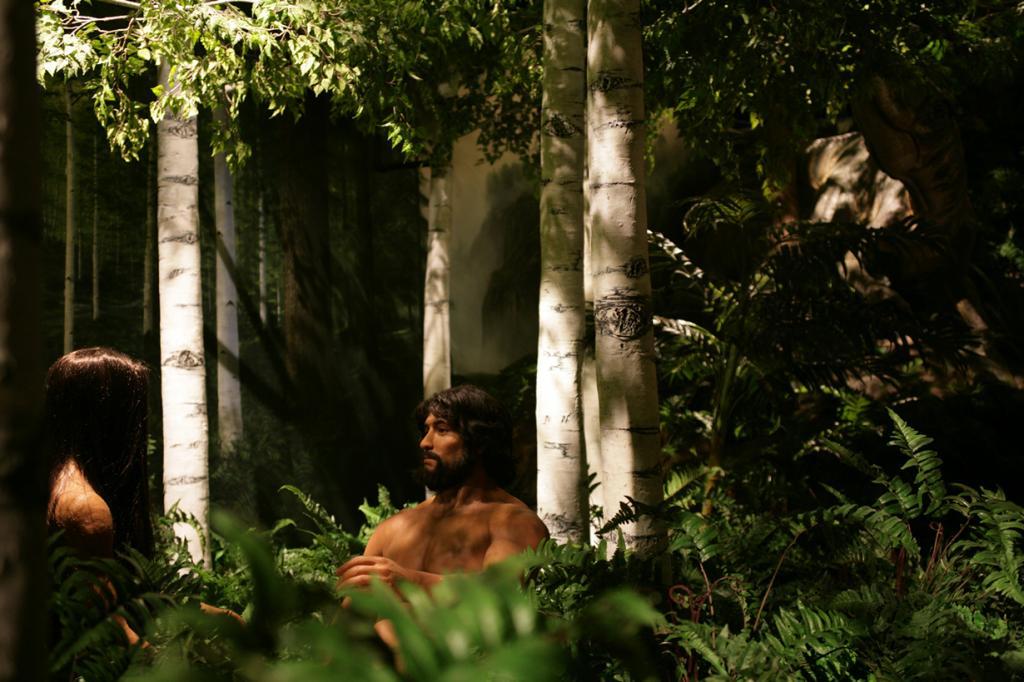 США. Питерсберг, Кентукки. Музей сотворения мира. Адам и Ева. (Jim Hickcox)