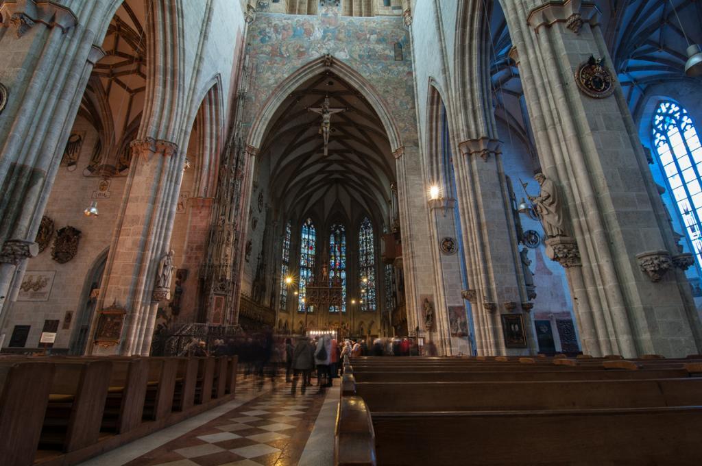 Ульмский собор. Архитектурный стиль — готика. (globetrotter_rodrigo)