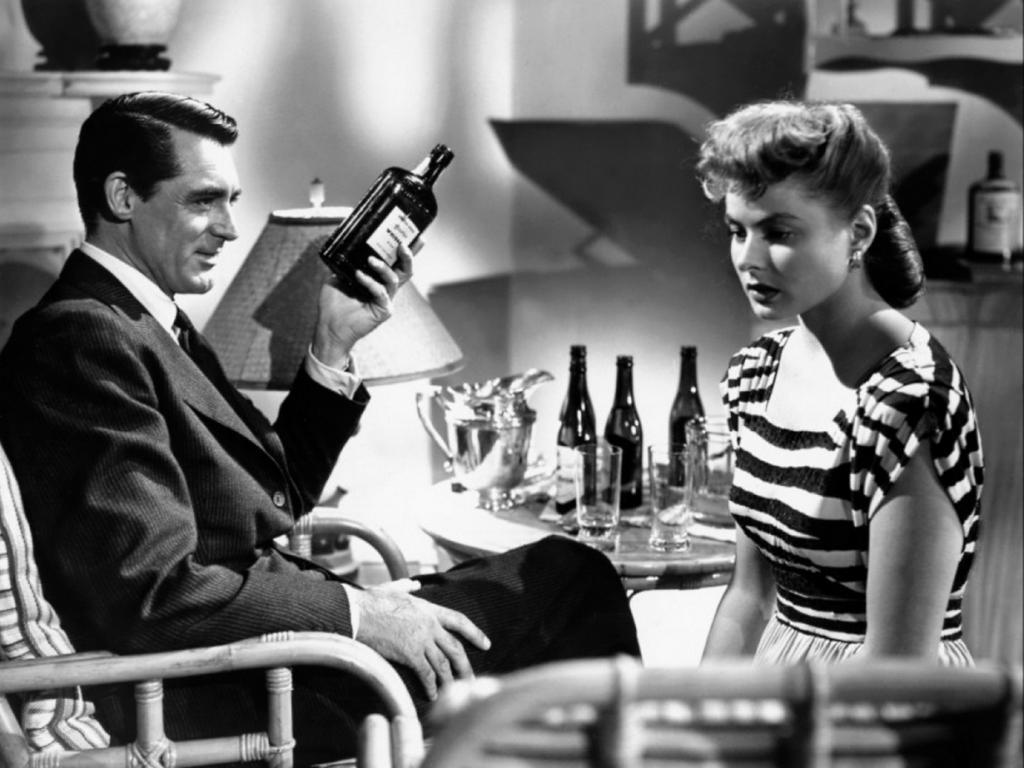 «Дурная слава» (1946). (Кадр из фильма)