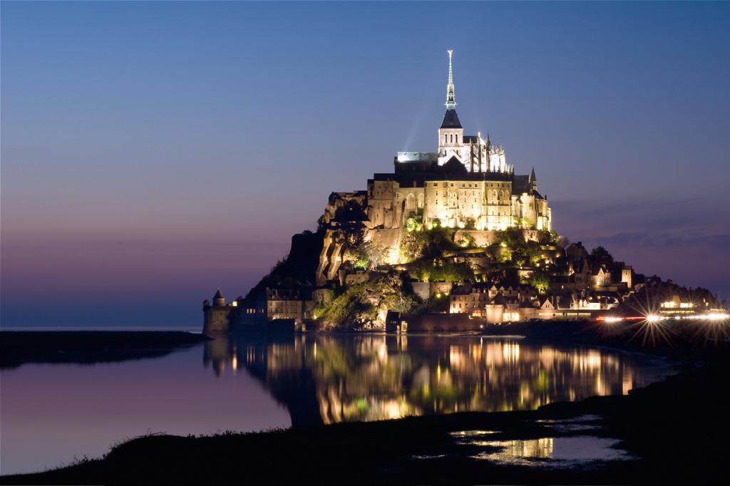 Франция. Замок Мон-Сен-Мишель. (Djof)