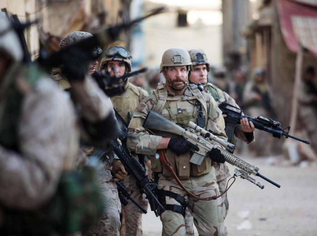 «Лучший звуковой монтаж» — «Американский снайпер» режиссёра Клинта Иствуда. (Кадр из фильма)