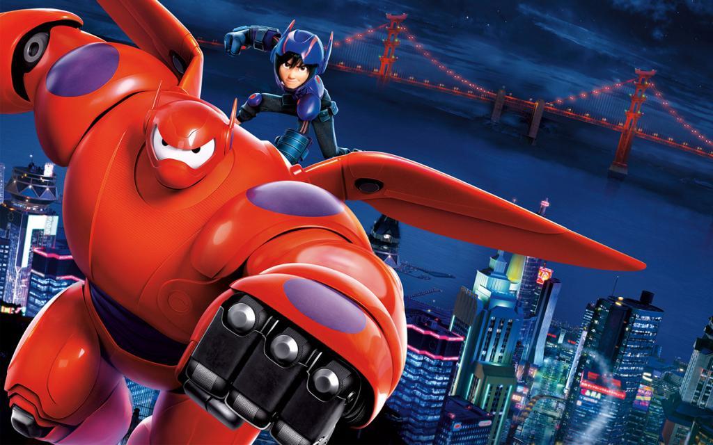 «Лучший анимационный полнометражный фильм» — «Город героев» студии Walt Disney Animation Studios. (Кадр из фильма)