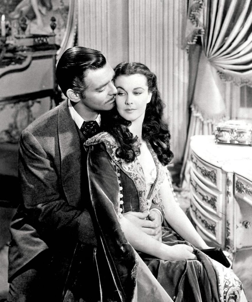 «Унесенные ветром» (1939). (Кадр из фильма)