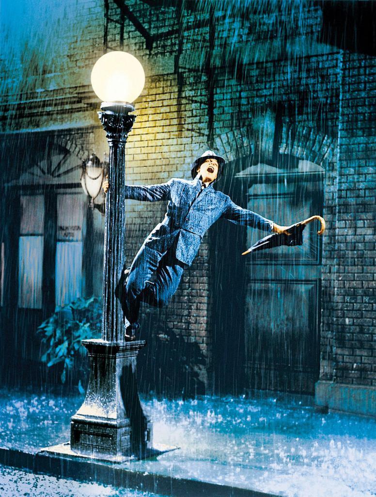 «Поющие под дождём» (1952). (Кадр из фильма)