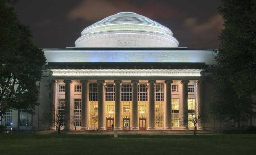 Массачусетский технологический институт. (Fcb981)