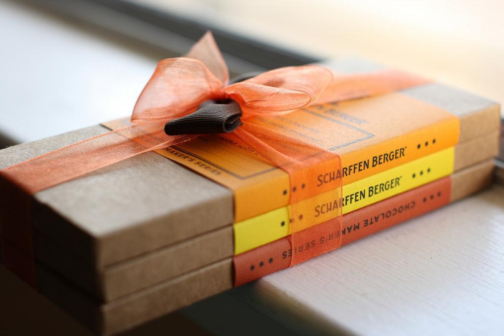 6 место. Scharffen Berger (США). Производитель славится своим элитным шоколадом с высоким содержанием какао и сложностью рецептуры. (John Loo)