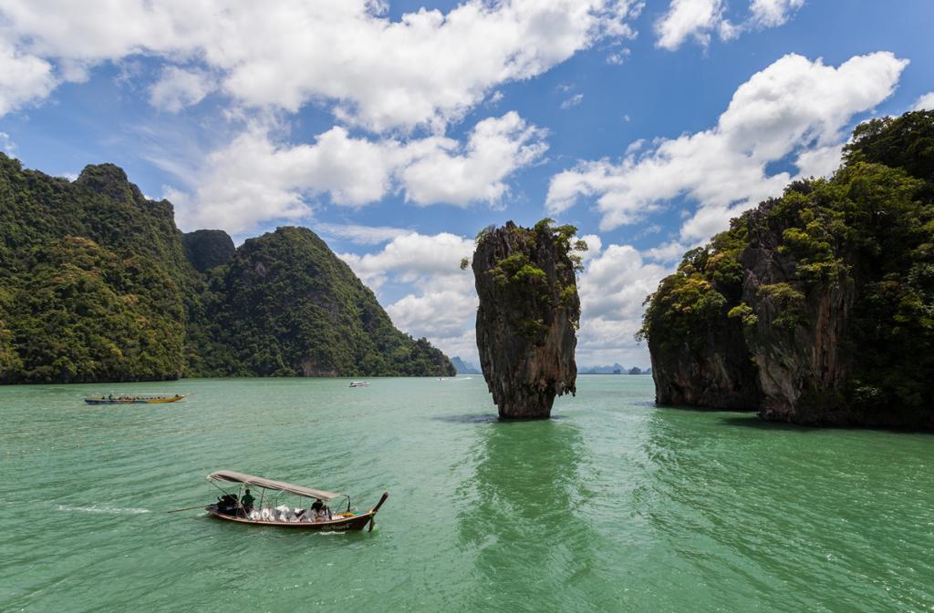 Таиланд. 26.5 млн туристов. (Diego Delso)