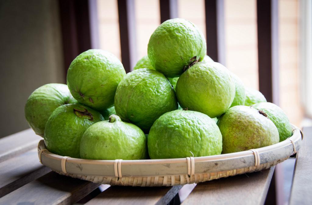 Псидиум. Плод источает приятный аромат, напоминающий запах лимонной цедры- вкус — сладковато-кислый. (Chetan Kolluri)