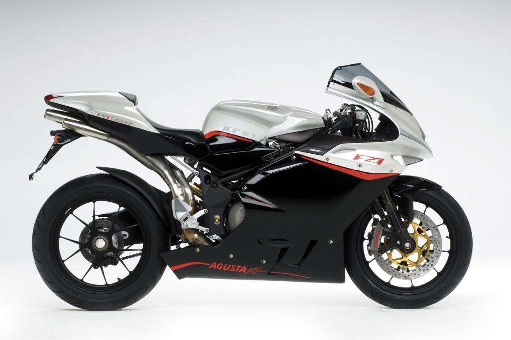 MV Agusta F4 R312. Максимальная скорость мотоцикла — 312 км/час. (MV Agusta)