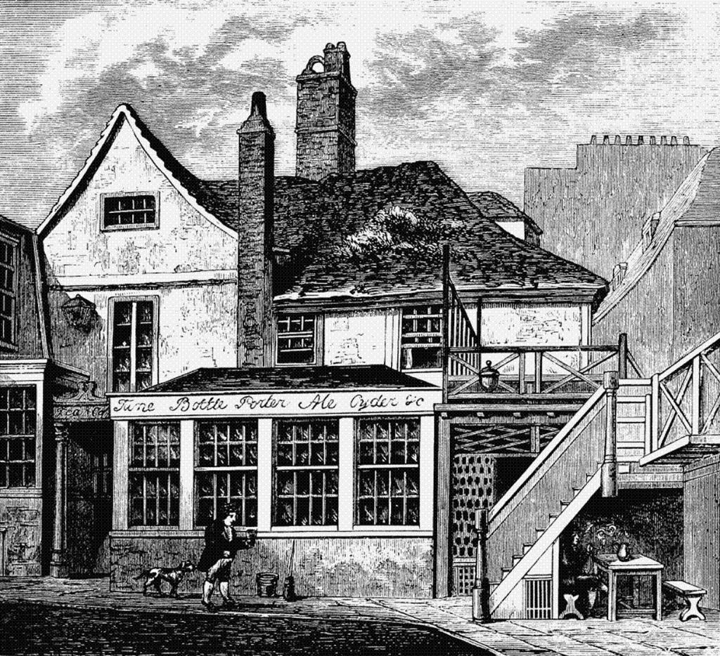 Пивная волна затопила Лондон в 1814 году после разрыва цистерны с пивом объёмом 610 тыс. литров. (Edward Walford)