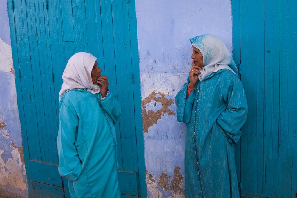 Марокко. Город Шефшауен. (Bobulix)