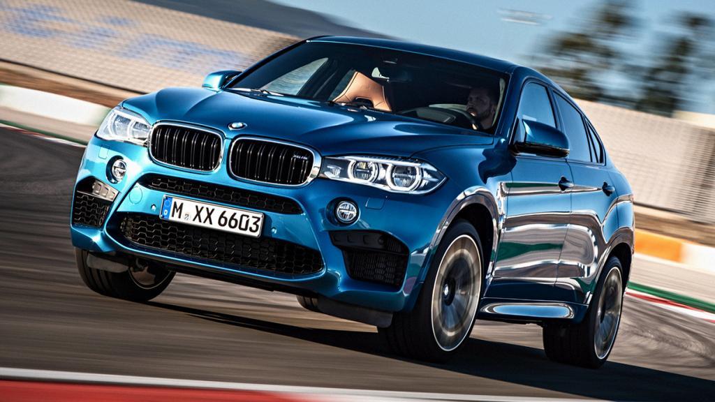 BMW X6 M. Мощность мотора: 567 л./c.; максимальная скорость: 249 км/ч. (BMW)