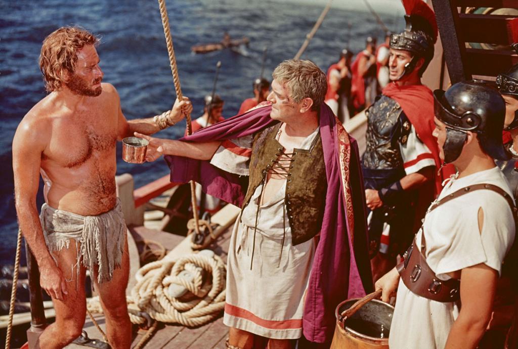 «Бен-Гур», 1959 год. Режиссёр: Уильям Уайлер. (Кадр из фильма)