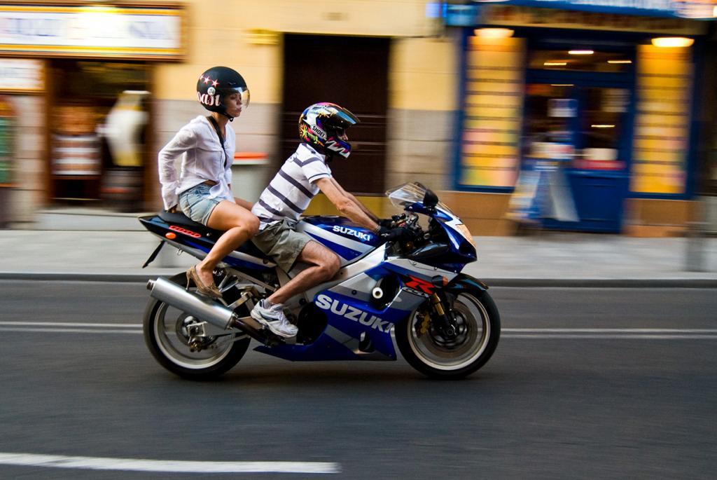 Suzuki GSX- R1000. Максимальная скорость мотоцикла — 285 км/час. (multisanti)