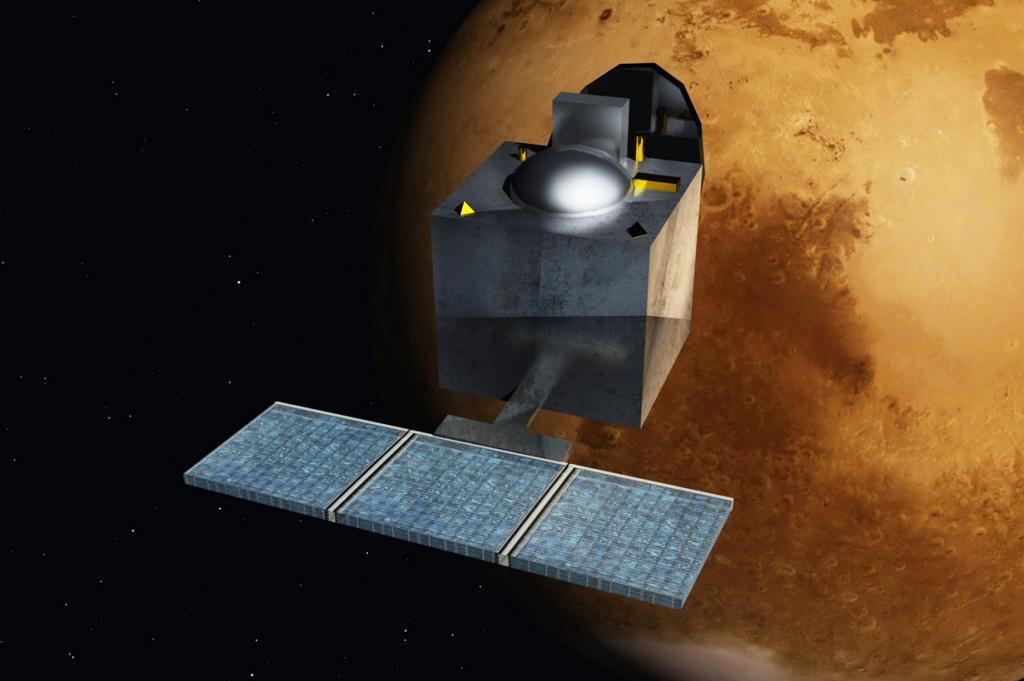 Индийская автоматическая межпланетная станция «Мангальян», предназначенная для исследования Марса с орбиты, обошлась дешевле, чем съёмки фильма «Гравитация». (Nesnad)