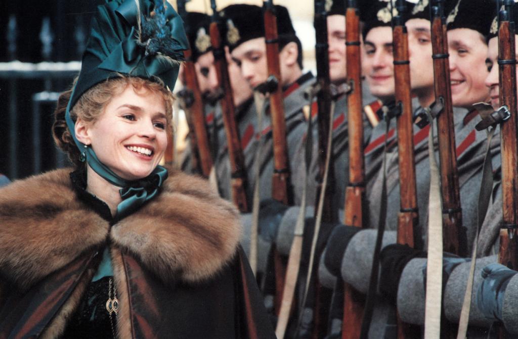 Историческая драма «Сибирский цирюльник», 1998 год. Режиссёр: Никита Михалков. (Кадр из фильма)