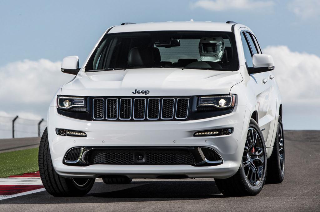 Jeep Grand Cherokee SRT. Мощность мотора: 470 л./c.; максимальная скорость: 257 км/ч. (Chrysler)