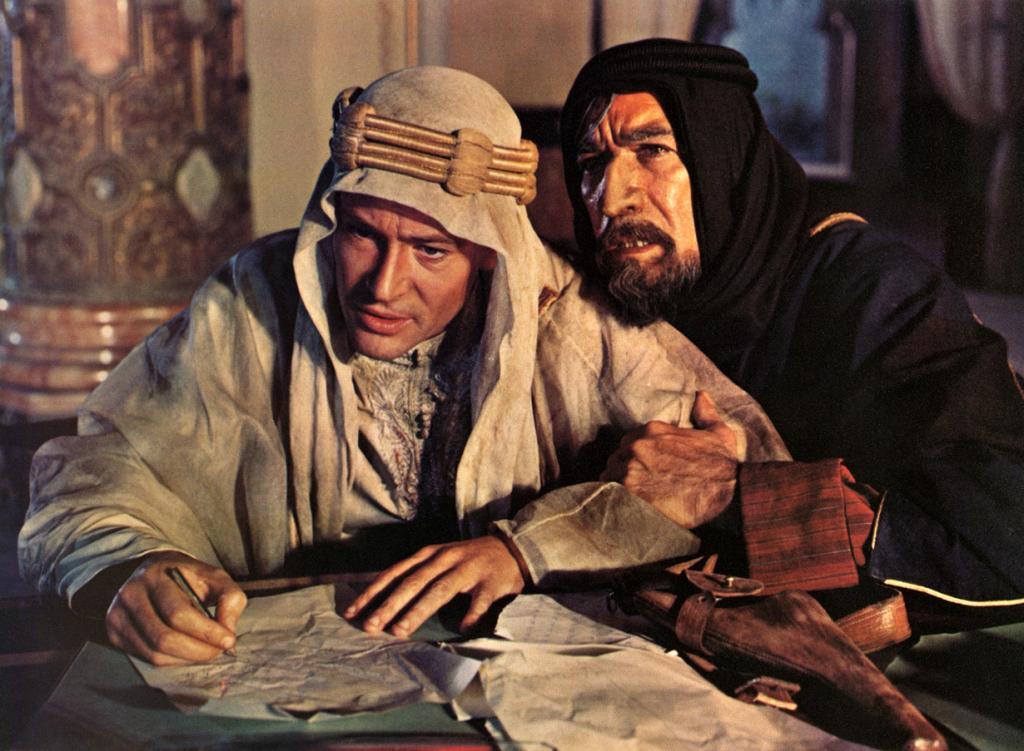 «Лоуренс Аравийский» , 1962 год. Режиссёр: Дэвид Лин. (Кадр из фильма)