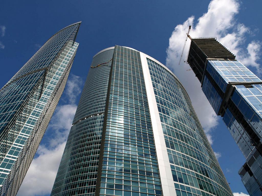Россия. Москва. Башня на набережной C. Высота: 268,4 м. (NVO)