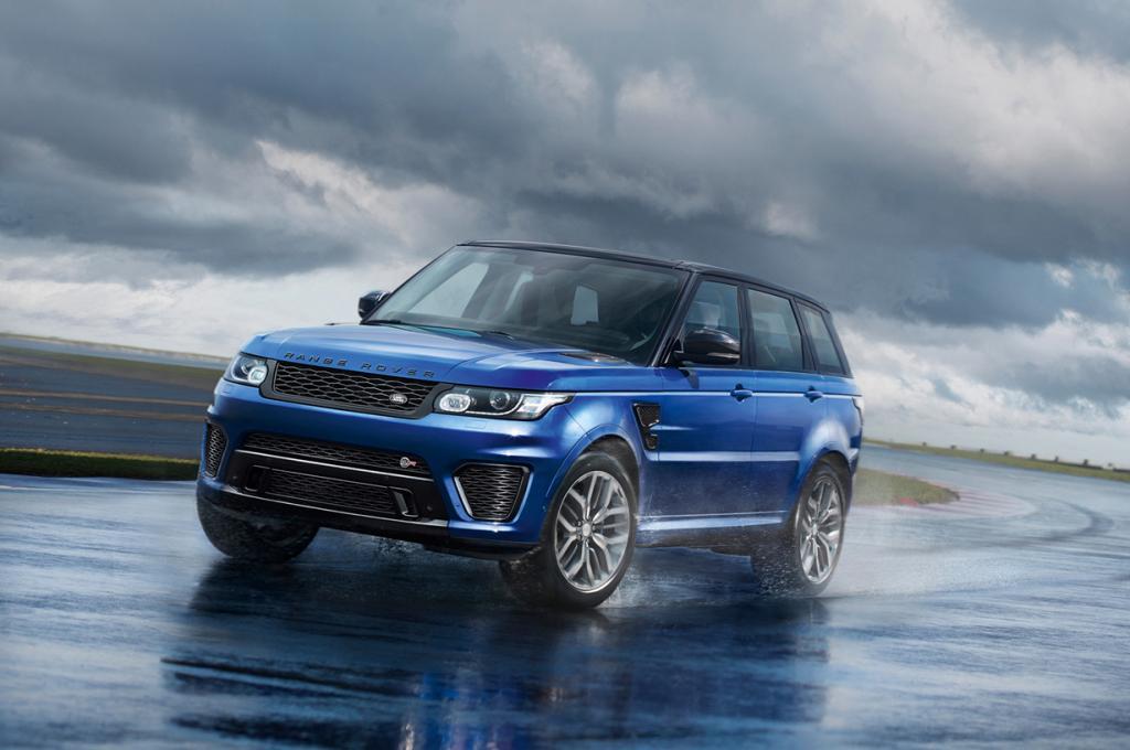 Range Rover Sport SVR. Мощность мотора: 510 л./c.; максимальная скорость: 260 км/ч. (Jaguar Land Rover)