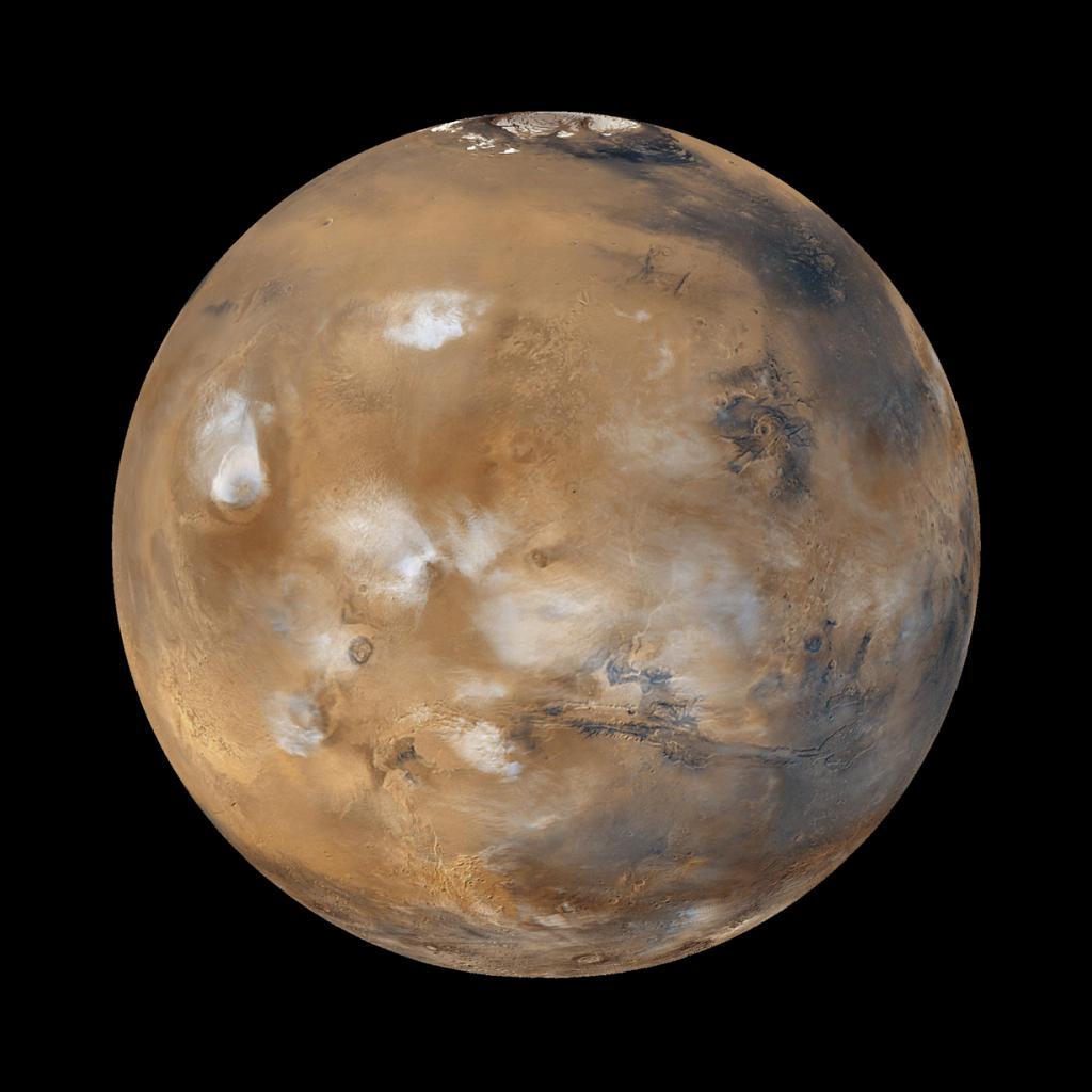 Более 100 тыс. человек подали заявки на полёт в один конец в рамках программы по колонизации Марса, которая запланирована на 2022 год. (NASA/JPL/MSSS)