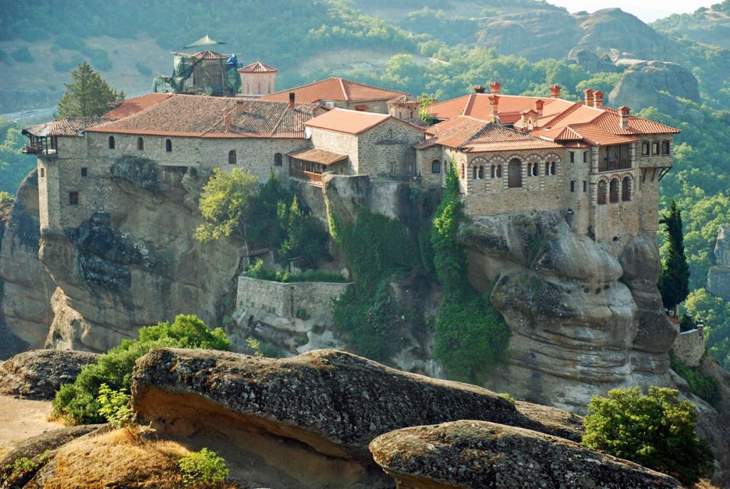 Монастыри Метеоры входят в список объектов Всемирного культурного наследия. (fernandomartinezhinojal)