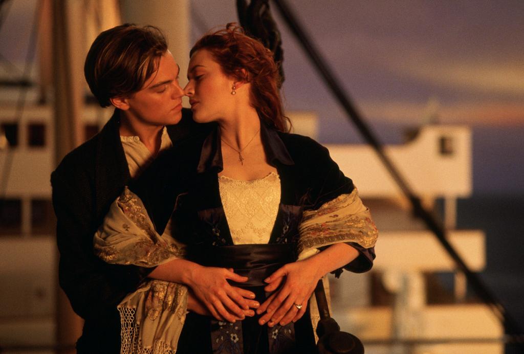 «Титаник», 1997 год. Режиссёр: Джеймс Кэмерон. (Кадр из фильма)