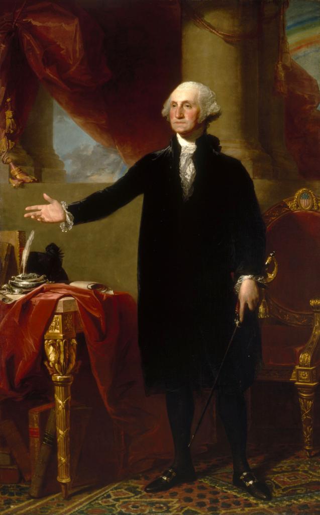 1-й президент США Джордж Вашингтон имел собственную пивоварню на землях Маунт-Вернона. (National Portrait Gallery, Smithsonian Institution)