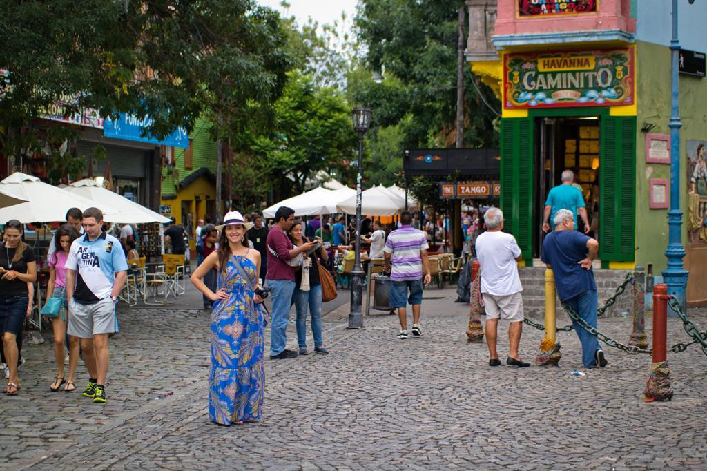 Улица получила своё название в честь знаменитого танго «Caminito», написанного в 1926 году композитором Хуаном Диасом Флиберто. (Nan Palmero)