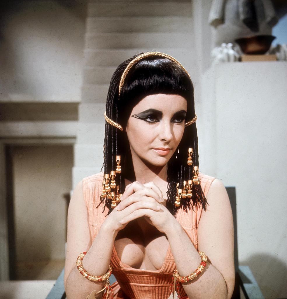 Кадр из фильма «Клеопатра», 1963 год