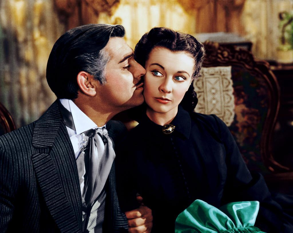 Кадр из фильма «Унесённые ветром», 1939 год