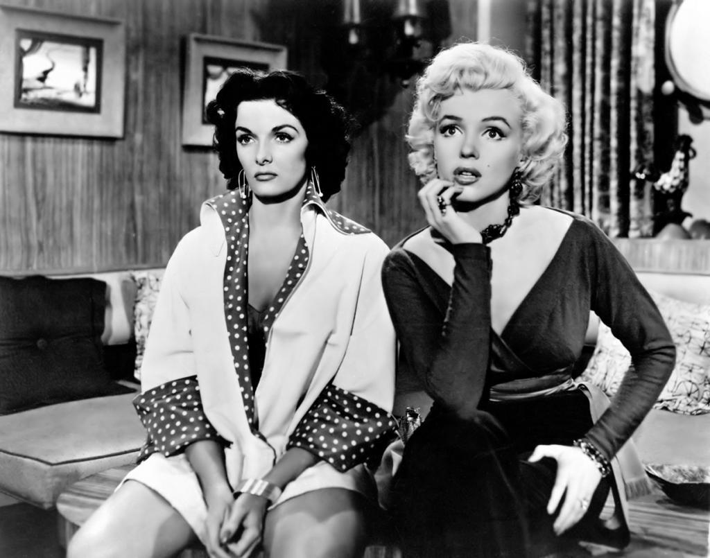 Кадр из фильма «Джентльмены предпочитают блондинок», 1953 год