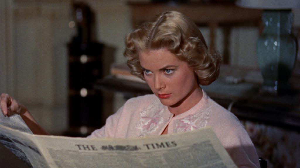 """Кадр из фильма «В случае убийства набирайте """"М""""», 1954 год"""