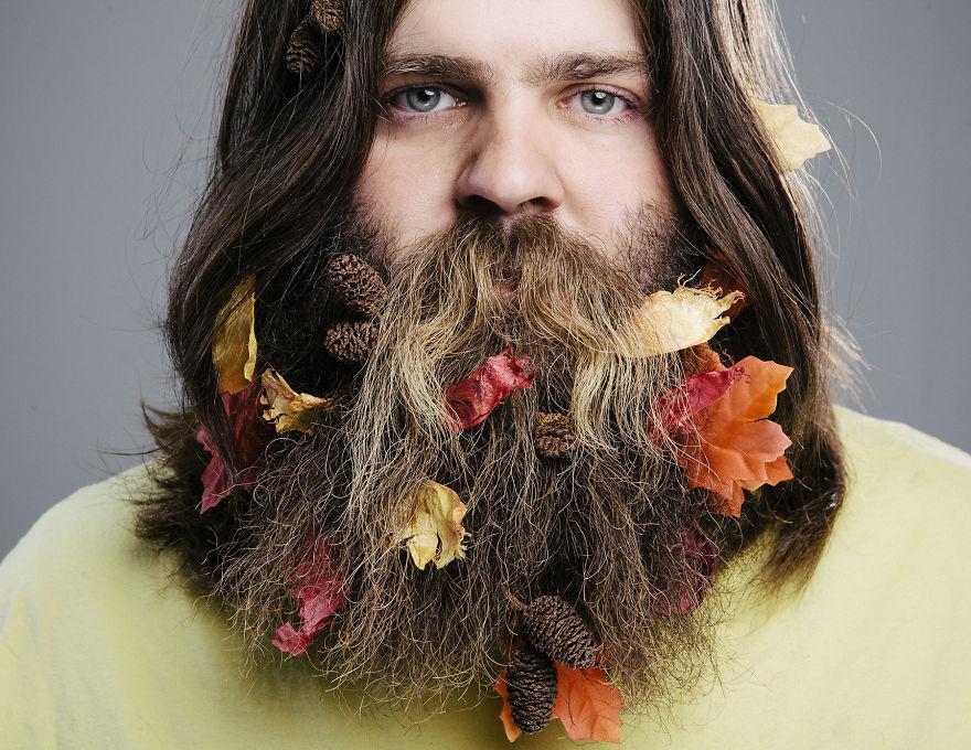 Сентябрь. Осенняя борода.