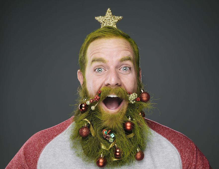 Декабрь. Рождественная борода.