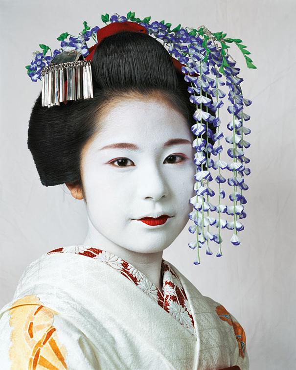 15-летняя Риса, Киото, Япония.
