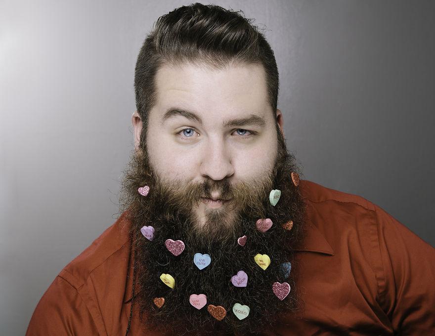 Февраль. Борода Дня святого Валентина.